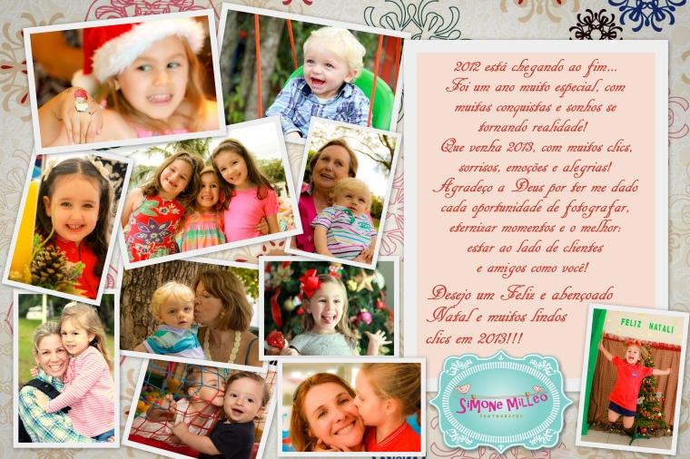 Cartao Natal Blog e FB 2012
