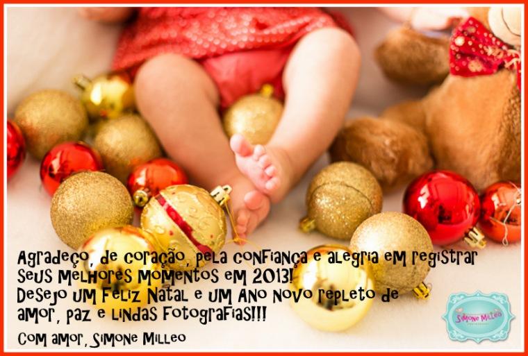 Cartão Natal Simone Milleo 2013
